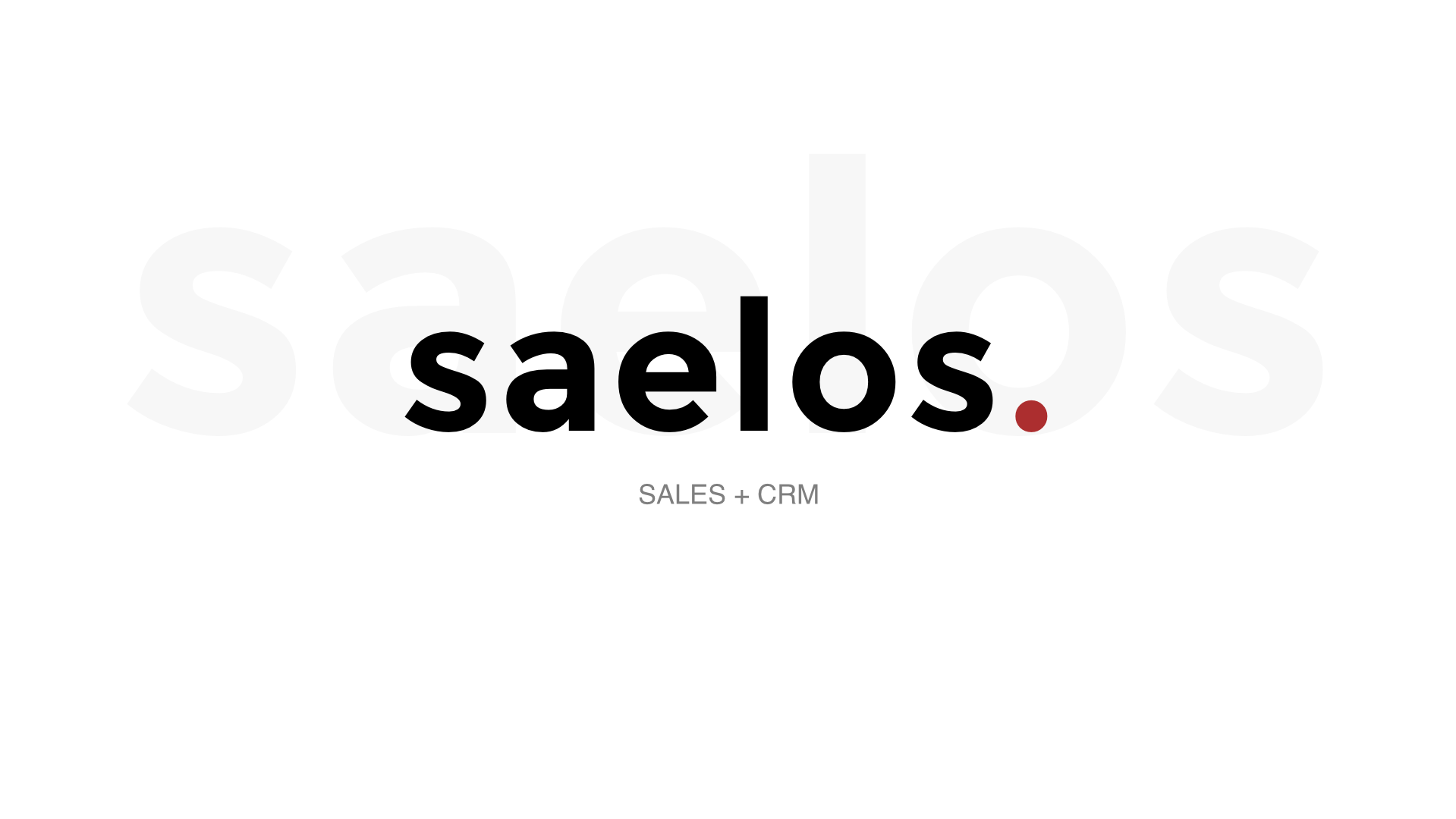 Introducing Saelos Open Source CRM