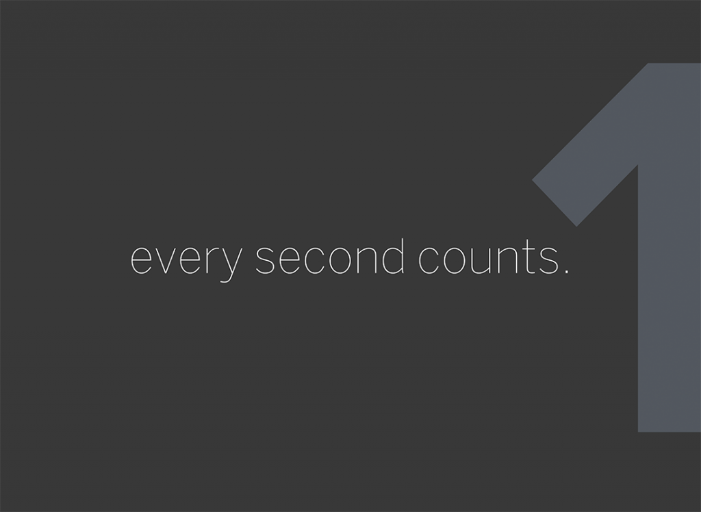 Every Second Counts, Lesson One
